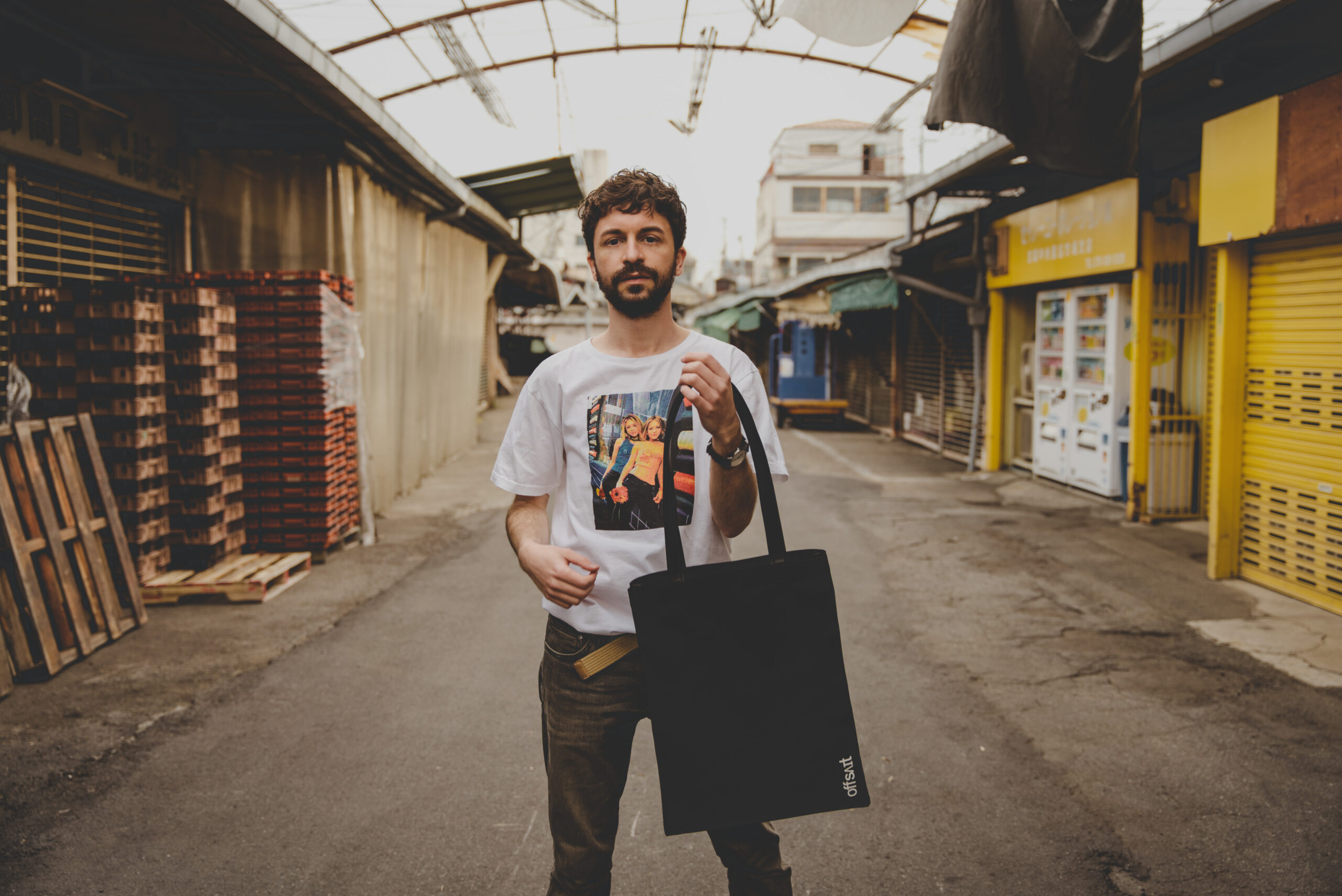 offsait - VOID Tote Bag with Cactus Leather Handles Lookbook